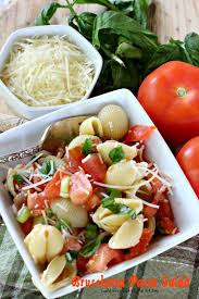 Best Pasta Salad Recipe by Bruschetta Pasta Salad Can U0027t Stay Out Of The Kitchen