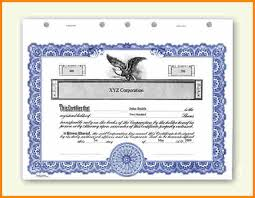 12 stock certificate template ledger page