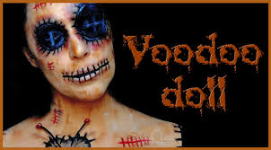 Evil Doll Halloween Makeup by Voodoo Doll Face Paint Makeup Tutorial Silvia Quiros Youtube