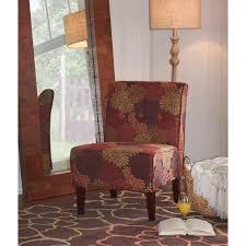 Home Decor Accent Linon Home Decor Coco Harvest Fabric Accent Chair 36096har 01 Kd U