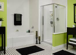Bathroom Decorating Ideas Color Schemes Black And White Tile Bathroom Decorating Ideas Acehighwine Com