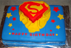 Superman Decoration Ideas by Superman Cakes For Kids
