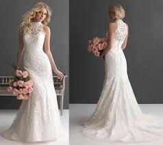 wedding dress high neck high neck lace wedding dress