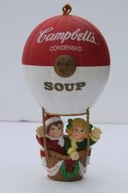 cbell s soup ornaments lot 90s vintage