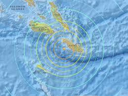 Solomon Islands Map Solomon Islands Earthquake Tsunami Warning Lifted After Magnitude