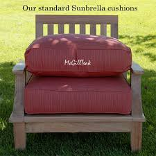 Red Patio Chair Cushions Best 25 Sunbrella Replacement Cushions Ideas On Pinterest