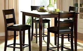 high top pub table set small bar table set kitchen tall bar table and stools small round