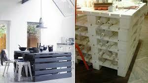 faire un meuble de cuisine 22 meubles à faire avec des palettes en bois
