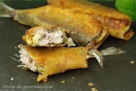 cuisiner des sardines fraiches sardines farcies en feuilles de brick péché de gourmandise