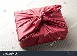 seasonal imagea gift box wrapped red stock photo 35181589