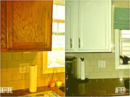 painting old kitchen cabinets before and after home design