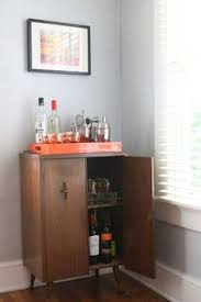 Antique Bar Cabinet Furniture Vintage Radio Turned Bar Cabinet Upcycle Radios And Bald Hairstyles
