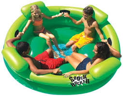 amazon pool floats summer fun for less huge inflatable rocker pool float only 39 79