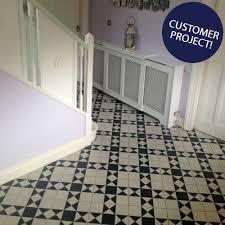 146 Best Inspiring Flooring Projects Black U0026 White Panel Tiles Gosford Tiles 285x285x8mm Tiles