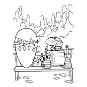 walle coloring pages coloring page wall e pixar 6382
