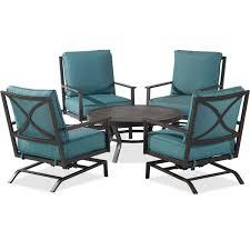 palermo 5 piece chat set seating u0026 lounge patio furniture