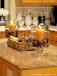 kitchen decorating ideas for countertops fall home tour part 2 fall decor kitchens and decorating