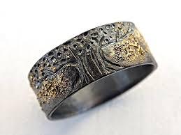 amazon com unique viking ring celtic wedding band tree of