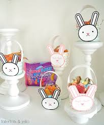 easter basket bunny mini bunny easter baskets