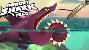 Hungry Shark Map Buzz Helicoprion New Shark Unlocked Hungry Shark World