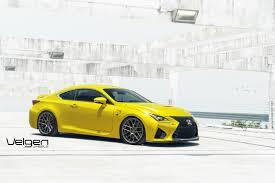 lexus yellow headlights yellow lexus rc f stuns on velgen wheels gtspirit