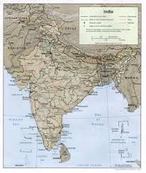 Map Of India And Nepal by