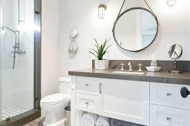 White Bathroom Vanity With Black Granite Top - breathtaking white bathroom cabinets with dark countertops