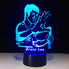Led Lighting For Under Kitchen Cabinets Bruce Lee Kungfu Lighting For Under Kitchen Cabinets 3d Lamp Night