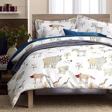 Flannel Duvet Covers Winter Forest Flannel Sheets U0026 Bedding Set The Company Store