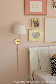 ikea rodd wall sconce hack rustoleum gold metallic spray paint