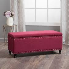 red ottomans u0026 poufs you u0027ll love wayfair