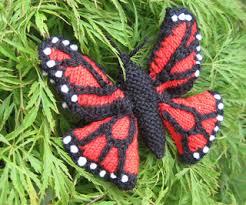 ravelry monarch butterfly pattern by ginny sturdy