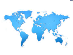 world map stock image 3d world map in blue screen free stock footage new 3d world map