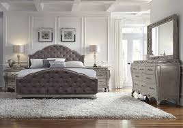 rhianna glam style bedroom set by pulaski furniture home gallery