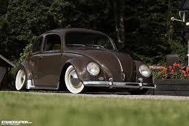 modified volkswagen beetle clean u0026 classy roland u0027s beautiful vw beetle stancenation