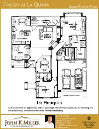 2 Car Garage Floor Plans Trilogy At La Quinta Floor Plans John K Miller Group