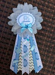 baby shower corsage set mommy to be daddy to by bowsandwhistles00
