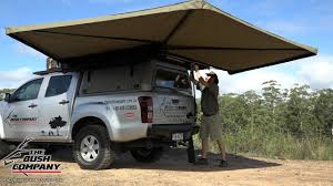4x4 Awning 270 Degree Gull Wing Awning Review The Bush Company 4wd