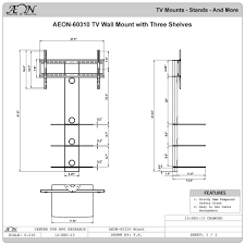 installing wall mount tv amazon com aeon stands and mounts swiveling tv wall mount with