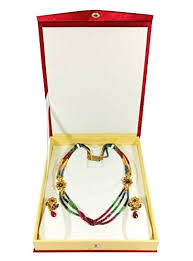 necklace set box images Atorakushon multipurpose necklace earring bangle bracelet set half jpg