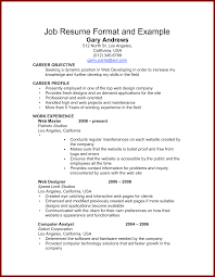 Job Resume Profile by Simple Job Resume Free Resume Example And Writing Download