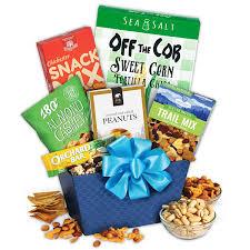 healthy gift baskets healthy treats gift basket by gourmetgiftbaskets