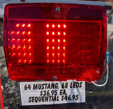 mustang led tail lights 65 plus mustang led tail light conversions hotridesusa com