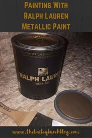 ralph lauren metallic paint in highgate blue home decor
