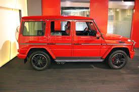 mercedes g wagon red interior mercedes benz gelandewagen w463 g63 amg red benztuning