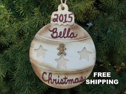 personalized christmas ornament kids christmas gift holiday