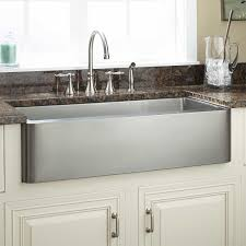 Kitchen Convenient Cleaning With Stainless Steel Farm Sink - Kohler stainless steel kitchen sinks undermount