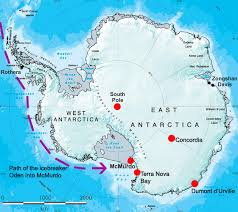 map of antarctic stations 2012 11 30 getting to concordia the last degrees