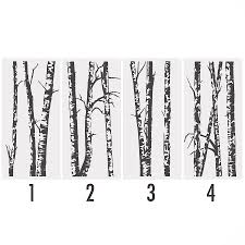 Wall Stickers Trees Wall Stickers Silver Tree Color The Walls Of Your House
