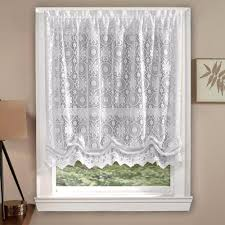 lorraine home fashions hopewell lace window shade curtainshop com